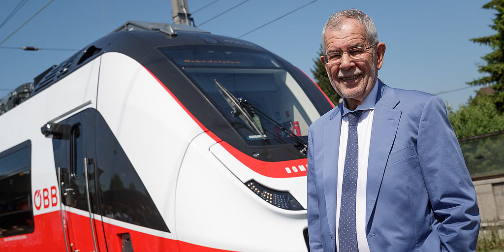 "Besichtigung des neuen ÖBB-City-Jets ""Talent 3"" in Dornbirn"