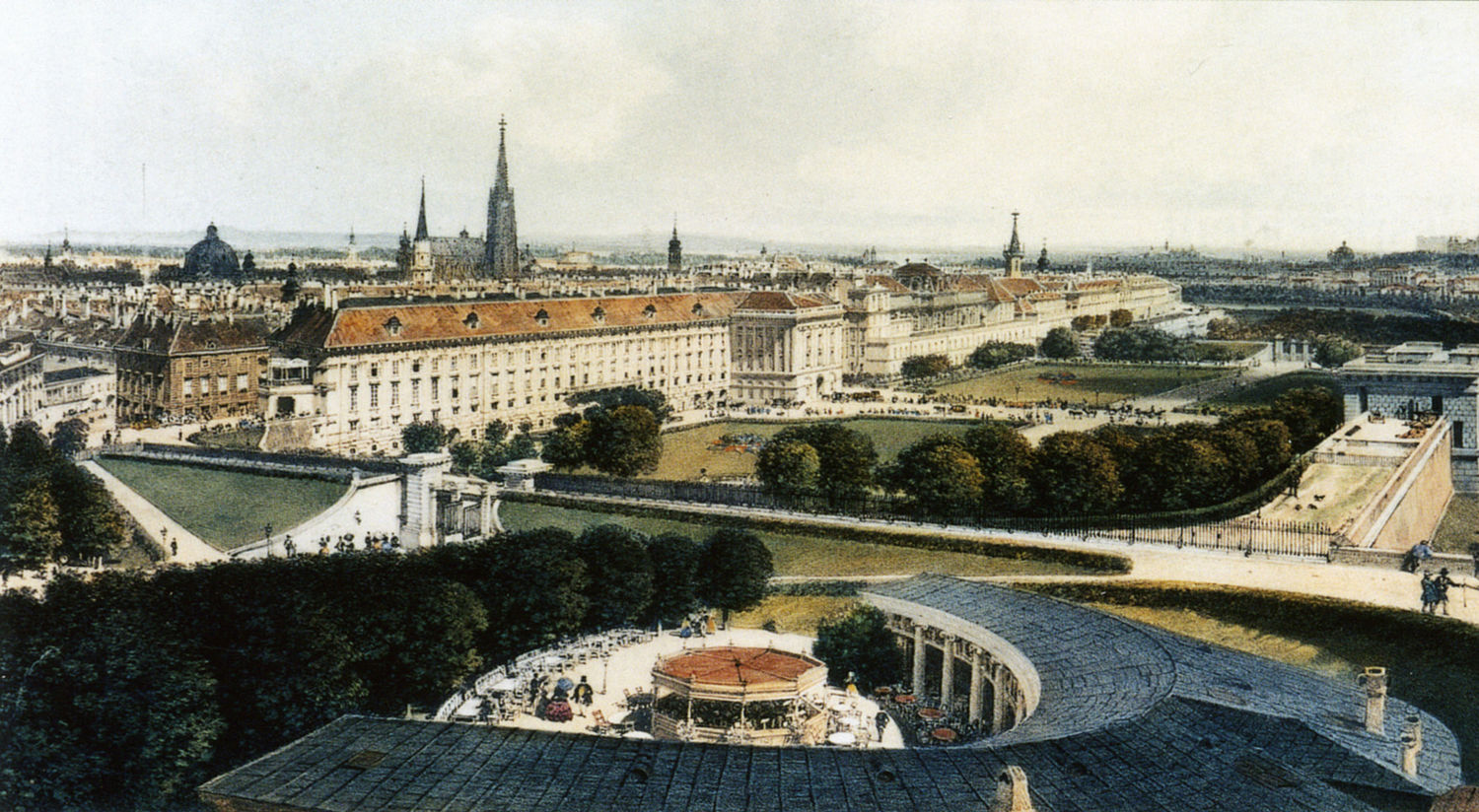 The Vienna Imperial Palace